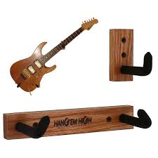 angled guitar hanger for electric guitars