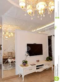 Partition For Living Room Interroom Mirror Wall Partition In A Living Room Modern Classic