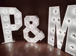 Big Letters With Lights Amazon Com Custom Large Wedding Marquee Letters Large Light