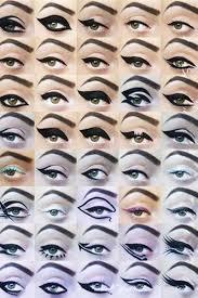 diffe ways to do cat eye makeup mugeek vidalondon