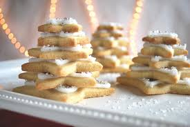 christmas star cookies. Delighful Cookies Stacked Star Christmas Tree Sugar Cookies With S