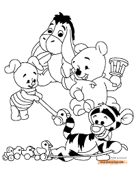 Www Coloring Book Info Winnie The Pooh New Baby Pooh Printable
