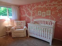 Pink Nursery with Tree over Crib - Project Nursery