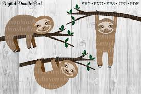 Check out our sloth svg selection for the very best in unique or custom, handmade pieces from our papercraft shops. Pin On Cricut Creations