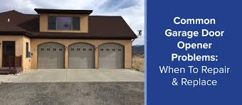 throughout the course of a residential occupancy a homeowner is likely to experience a broken garage door opener at some point