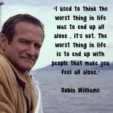 Robin Williams Quote Inspiration I'm Not Depressed I'm Committed To My Cause Robin Williams Quote