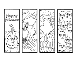These cute free printable halloween bookmarks are fun to print for the kids during october. Diy Halloween Bookmarks Holiday Crafts Color Your Own Bookmark Instant Download Gift For Bookworm Coloring Bookmarks Halloween Coloring Coloring Bookmarks Free