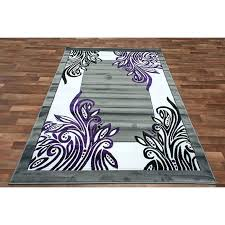 plum colored area rugs and grey rug fabulous purple