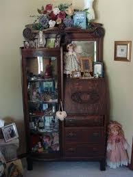 antique curio cabinets with curved glass curved glass door antique china cabinets photos antique oak secretary curio cabinet original curved glass door
