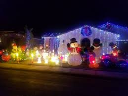 Natal Circle Holiday Lights The 30 Best Holiday Light Displays In Phoenix In 2019