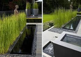 Waterscape Garden Designs Garden Waterscape Love The Background Potted Horestail