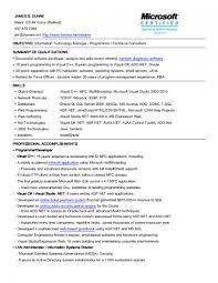 Information Technology Resume Information Technology Resume Examples KeyResumeUs 12