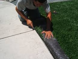 artificial turf on concrete