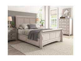 Homelegance 395 Casual Queen Sleigh Bed | Beck's Furniture | Sleigh Beds