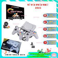 ẢNH THẬT Máy Chơi Game 4 Nút GameStation IB Tích Hợp 600 Games - Phiên bản  mới nhất -senvangshop tại Hà Nội
