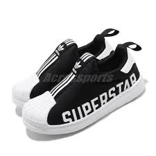Details About Adidas Originals Superstar 360 X C Black White Kid Preschool Slip On Shoe Eg3398