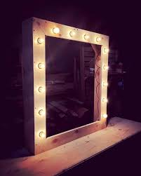 mirror with lighting. 50 diy pallet ideas that can improve your home mirror with lighting