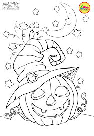 Cute Halloween Coloring Pages For Kids Halloween Coloring Pages For Kids Free Preschool
