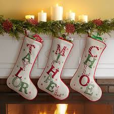 christmas stockings with names.  With Festive Name Christmas Stocking Throughout Stockings With Names H