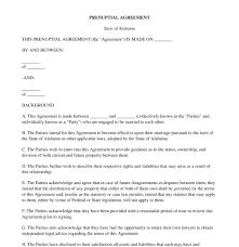 Sample Prenup Prenuptial Agreement Free Template Word Pdf