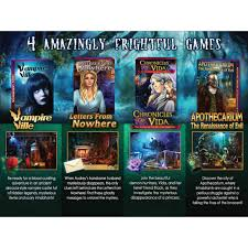 It is time to solve these cases in the huge array of hidden object games that await you! Legacy Games Hidden Object Games Paranormal Mysteries Vol 6 5 Pack Walmart Com Walmart Com