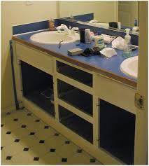 Open Shelf Vanity Bathroom Open Shelves Bathroom Vanity Laminate Countertops For Bathroom