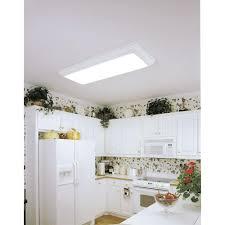 Fluorescent Kitchen Light Lithonia Lighting Cambridge 1 1 2 Ft X 4 Ft 4 Light Wood