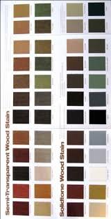 Woodsman Deck Stain Color Chart