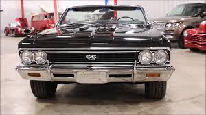1966 Chevy Chevelle Malibu Black - YouTube