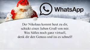 Whatsapp Sprüche Zum Nikolaus Computer Bild