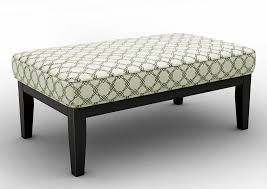 Brothers Fine Furniture Daystar Seafoam Oversized Accent Ottoman