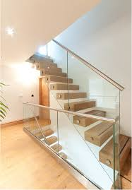 Cantileaver Oak & Glass Staircase VIII