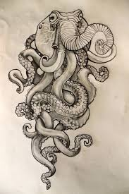 Small Picture 46 best tattoo images on Pinterest Octopus tattoos Drawings and