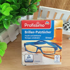 german dm ion profissimo glasses cloth paper clean the lens of your lenses phone non trace wet paper