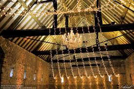 monk barn wedding chandeliers