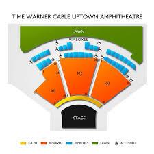 Charlotte Metro Credit Union Amphitheatre 2019 Seating Chart