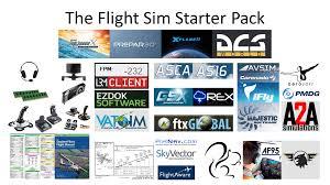 The Flight Sim Starter Pack Starterpacks