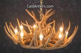 ca 12 whitetail cascade antler chandelier