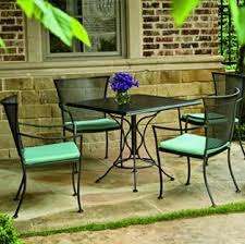wrought iron patio furniture heavy black wrought iron patio
