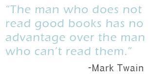 quotes mark quotes mark twain reading