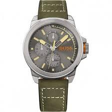 hugo boss orange mens green watch 1513318 hugo boss watches hugo boss orange mens green watch 1513318