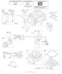 Array briggs and stratton 12q502 0564 b1 parts diagram for camshaft rh jackssmallengines