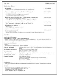 Engineering Resume Manufacturing Engineer Sample Senior Management