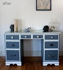 ikea dresser redo painted desk