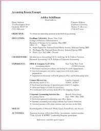 93 Remarkable Best Resumes Ever Examples Of Accounting Resume