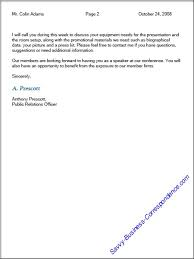 Classic Business Letter Format Samples Of Business Letters