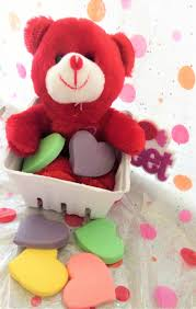 save this item for viewing later view larger image valentines teddy bear gift basket