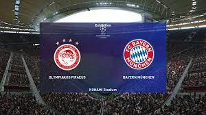 PES 2020 | Olympiakos vs Bayern Munich - UCL - YouTube