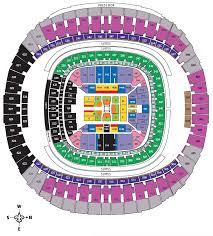 Wwe Wrestlemania 34 Seating Chart Wrestlemania 34 Seating Chart