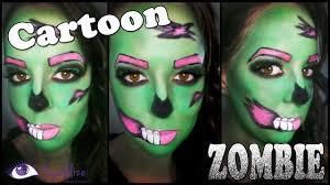 cartoon zombie makeup tutorial by eolizemakeup you source s you watch v vwcdykffryq